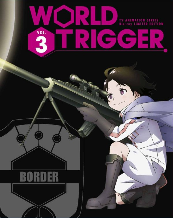 World Trigger Japanese Volume 3 Limited Edition Package