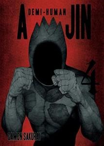 Ajin Volume 4 Cover