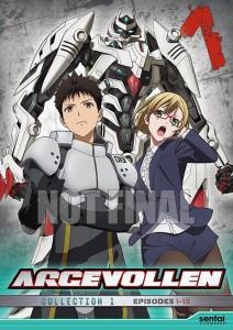 Argevollen DVD Cover