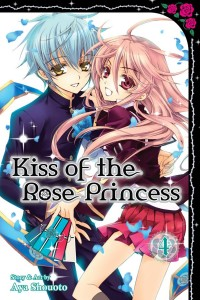 Kiss of the Rose Princses Volume 4 Cover