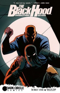 The Black Hood Issue 4 Cover