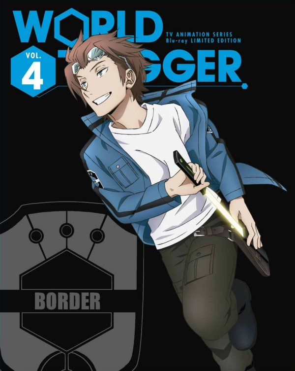 World Trigger Japanese Volume 4 Limited Edition Package