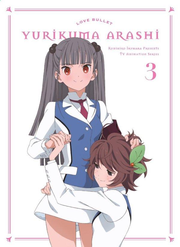 Yuri Kuma Arashia Japanese Volume 3 Cover