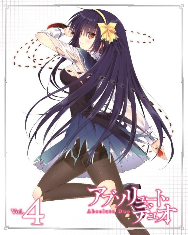 Absolute Duo Japanese Volume 4 Cover
