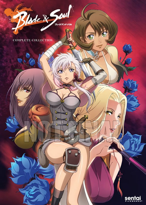 Blade and Soul DVD Cover