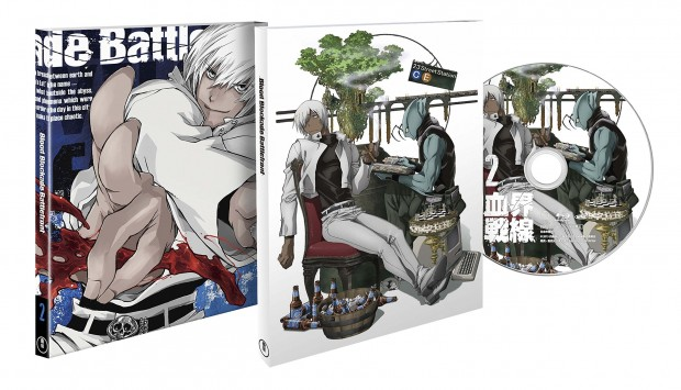 Blood Blockade Battlefront Japanese Volume 2 Packaging