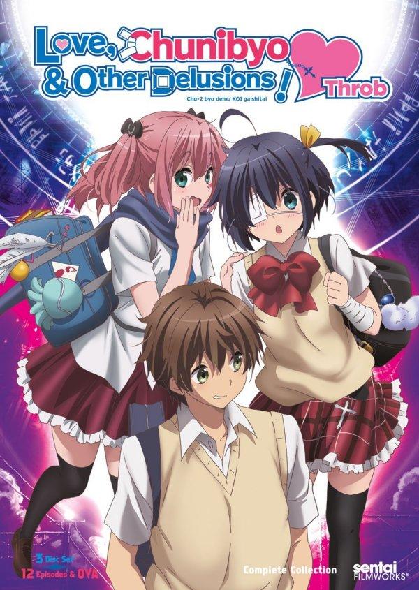 Chunibyo Heart Throb DVD Front