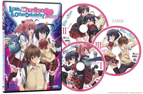 Chunibyo Heart Throb DVD Packaging