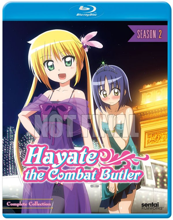 Hayate the Combat Butler Season 2 BD Cover