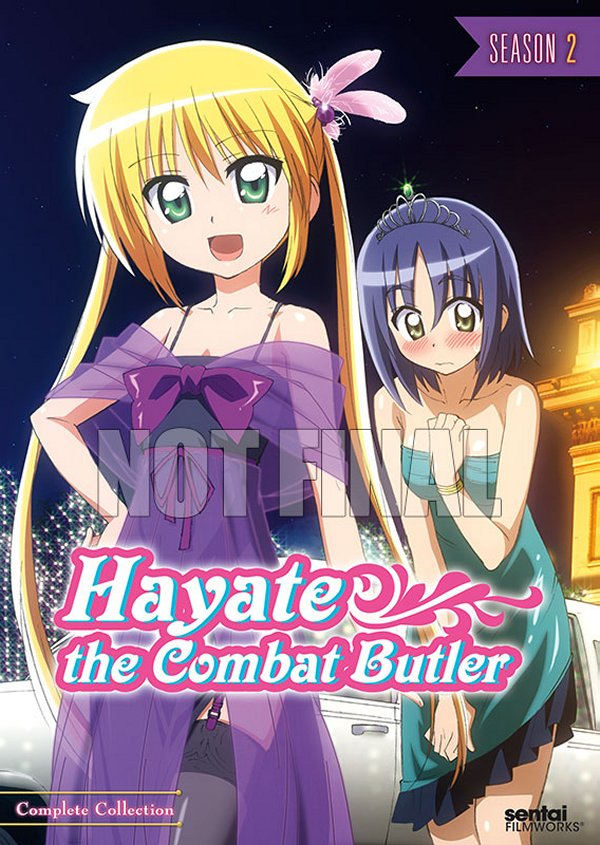 Hayate the Combat Butler Season 2 DVD Cover