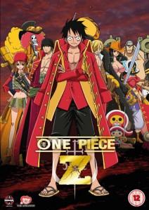 One Piece Film Z UK Cover
