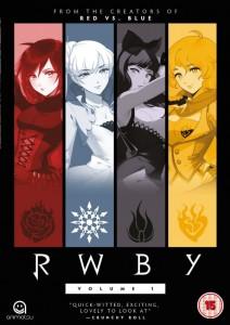 RWBY Volume 1 Cover