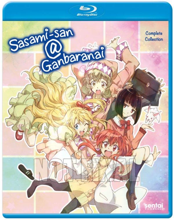 Sasami-san Ganbaranai BD Cover