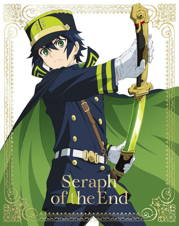 Seraph of the End Japanese Volume 1 Cover