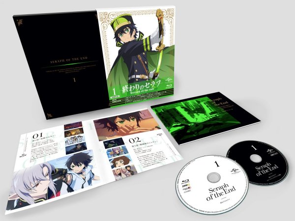 Seraph of the End Japanese Volume 1 Packaging
