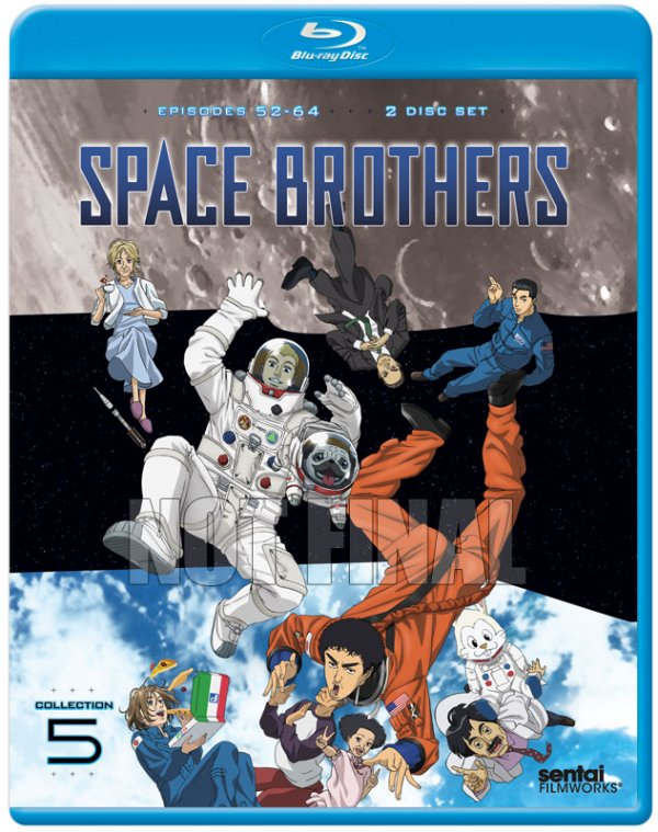 Space Brothers Part 5 BD Cover