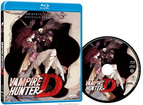 Vampire Hunter D BD Packaging