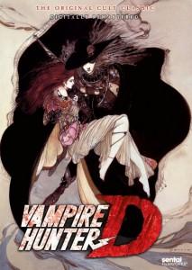 Vampire hunter D DVD Cover Front