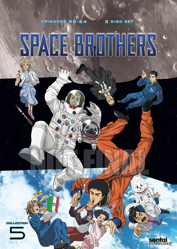 space Brothers Part 5 DVD Cover