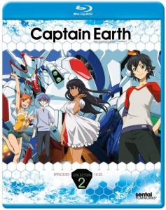 Captain Earth Collection 2 Cover