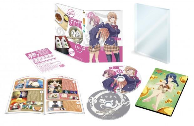 Food Wars Japanese Volume 2 Packaging