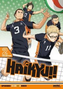 Haikyu Collection 2 DVD Cover