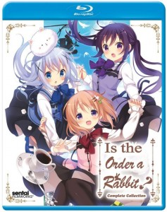 Is The Order a Rabbit BD Cover