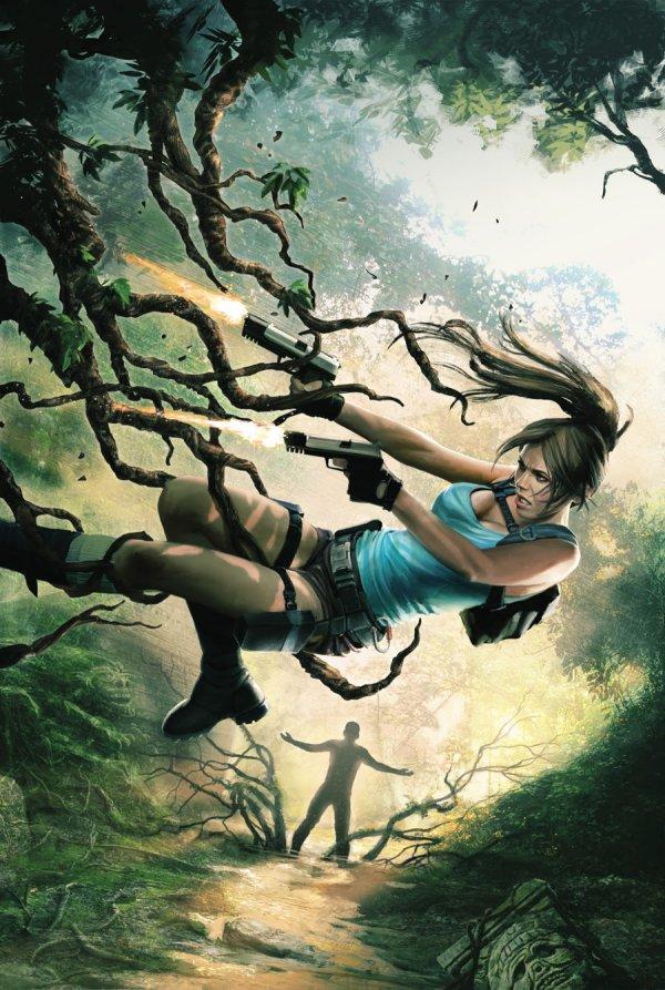 Lara Croft Frozen Omen Visual