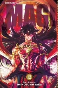 Magi Volume 12 Cover