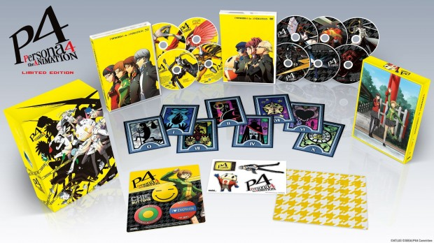 Persona 4 The Animation Collectors Edition Packaging Finalized