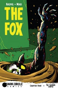 The Fox Issue 4 Cover