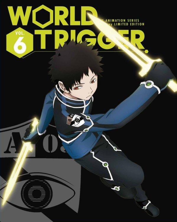 World Trigger Japanese Volume 6 Cover