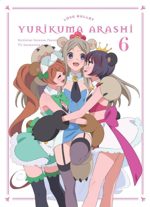 Yuri Kuma Arashia Japanese Volume 6 Cover