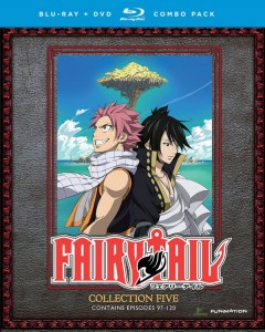 Fairy Tail Collection 5 DVD-BD