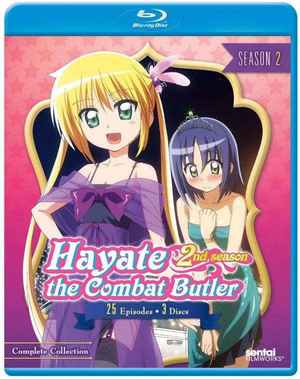 Hayate the Combat Butler Season 2 BD Cover Final