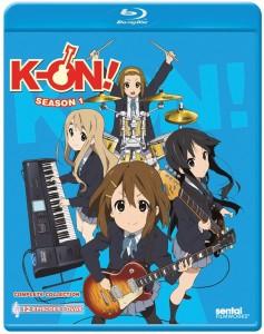 K-On Season 1 BD Cover
