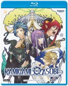 Kamigami no Asobi Blu-ray Cover