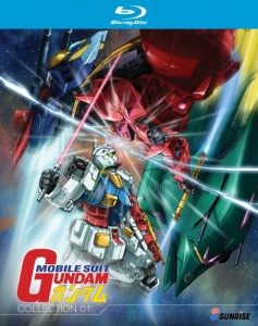 Mobile Suit Gundam Collection 1 BD Cover