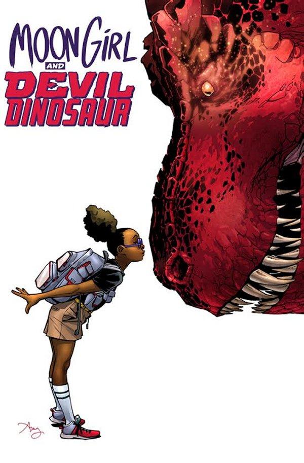 Moon Girl & Devil Dinosaur Visual