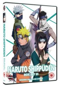 Naruto Shippuiden UK DVD 21 Cover