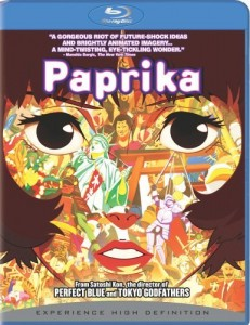 Paprika Blu-ray Cover