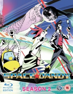 Space Dandy Season 2 UK Cover