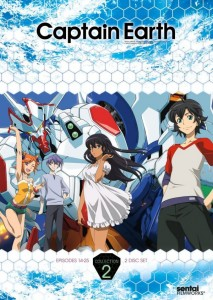 Captain Earth Collection 2 DVD Cover