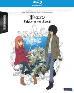Eden of the East BD Cover