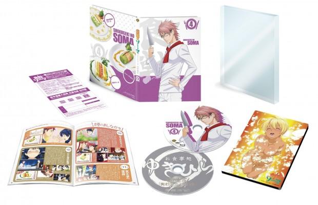 Food Wars Japanese Volume 4 Packaging (click for larger)