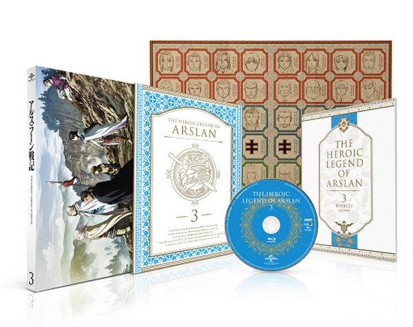 Heroic Legend of Arslan Japanese Volume 3 Packaging