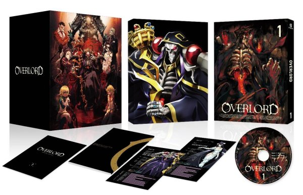 Overlord Japanese Volume 1 Packaging