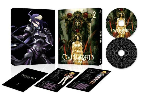Overlord Japanese Volume 2 Packaging