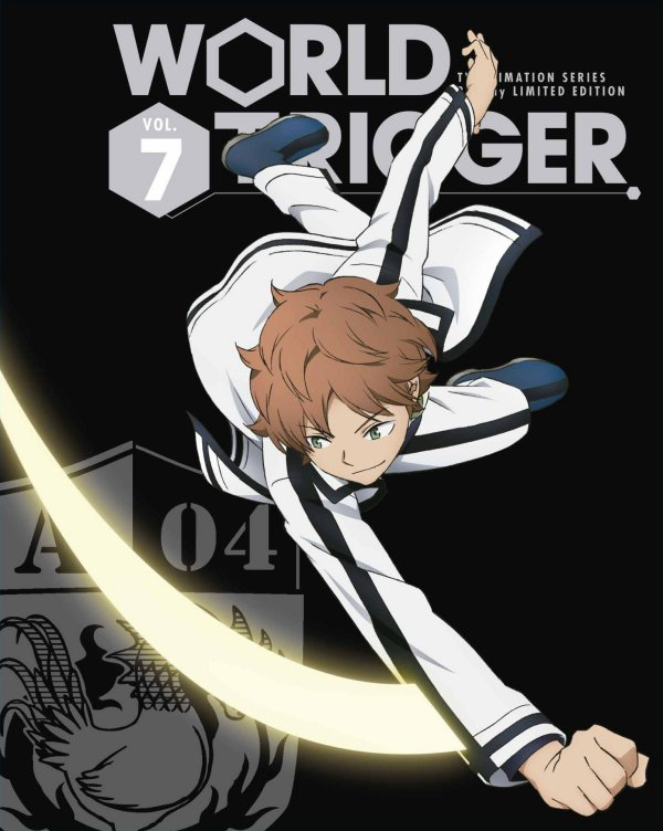 World Trigger Japanese Volume 7 Limited Edition Cover