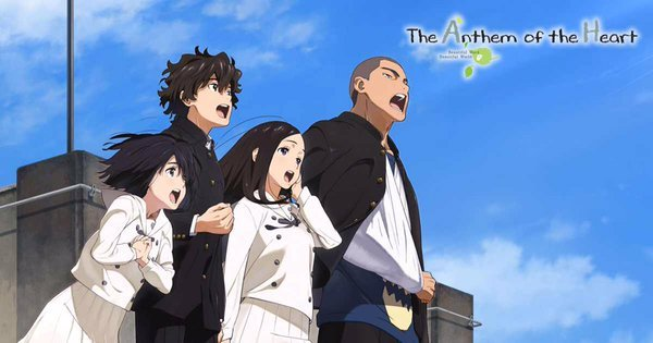 Aniplex Usa Sets The Anthem Of The Heart Anime Import Release